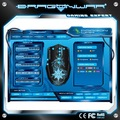 dragão de guerra g7 backlit led programáveis gaming mouse