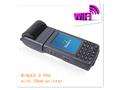 Ts-1000 mobile pos handheld terminal pda com impressora térmica e leitor laser