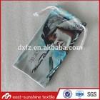 High quality microfiber goggle pouch bag,ski goggle bags,Photo printig double drawstring microfiber goggles pouch