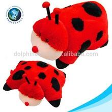 Cute plush animal shaped pillow