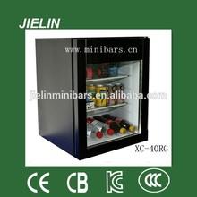 32litres balck/white single door mini bar mini refrigerator fashion