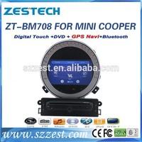 2 din navigation car satnav systems for BMW mini cooper/ Countryman car dvd ZT-BM708 In-Dash Navigation Car Stereo