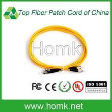 fc fiber optic patch cord st 5m duplex single mode patch cord