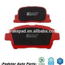 auto spare part toyota corolla ke30 brake pads spare parts used cars in dubai semi-metallic brake pad whole sale