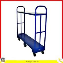 U-boat style steel stock cart/U-boat warehouse logistic trolley