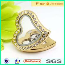 2014 fashion jewelry origami owl floating charms lockets wholesale, charm gold locket design, hot floating locket pendant #2