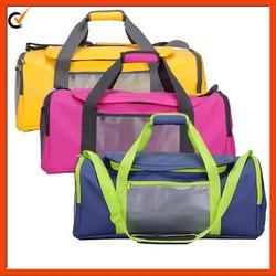 waterproof tarpaulin travel duffel bag for traveling
