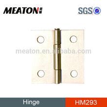 Flat head iron door hinge