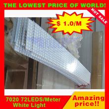 Good price SMD 7020 led rigid strip light cuttable led strip light 10MM width good quality