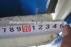 75*950 Fire retardant sound proof wall Roofing PU Rockwool sandwich panel