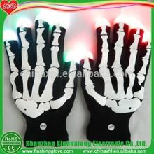 LED glove light up skeleton gloves for halloween gift