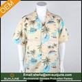 la costumbre de impresión camisas hawaianas