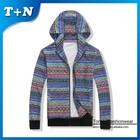 wholesale fashion thick fleece winter hoodies for men
