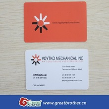 Factory price high quality PVC business card/full color printing thick business card