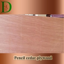 Pencil cedar plywood poplar core for construction door