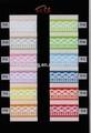 grosgrain cinta de impresión de seda de encaje