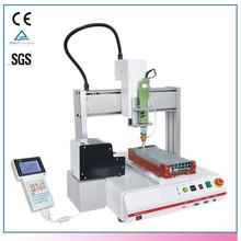 Automatic 3 Axis Desktop AB Hot Liquid Glue Dispenser For Electronics