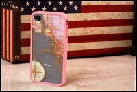 new three-piece suit thin Dirt / Shock proof Casing Cell Phone Case for iPhone 4 4S