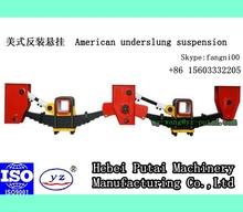 American underslung single axle tandem axle system trailer suspension