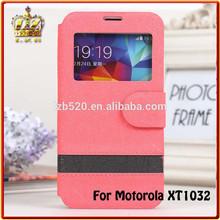 LZB PU leather stand wallet phone waterproof case for Motorola moto g