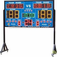 2014 new products energy saving LED mini electronic scoreboard