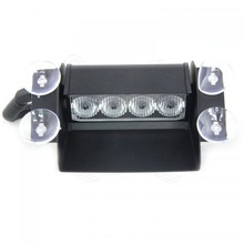 4 LED Strobe Light Car Flash Light 4W IP67 Emergency Warning Light