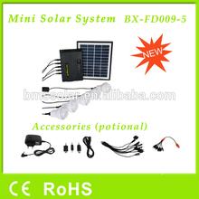 5W portable solar light kits