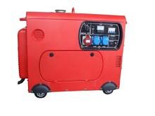 MP Portable 6KW Silent Red Diesel generator