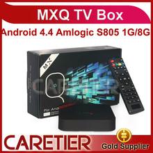 2014cheapest amlogic s805 xbmc quad core mxq tv box Amlogic S805 DDR3 1GB RAM