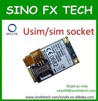 3G WCDMA simcard network socket wifi module/sim card reader computer