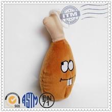 New design Plush Pet Products plush chicken leg