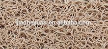 Elegant and fashionable PVC cushion floor door mat /fancy mat