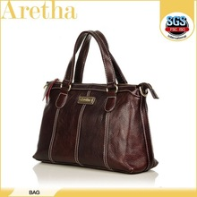 fashion handmade red color woman handbag lady genuine leather bags fashion 2013