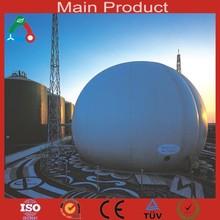 China Biogas Plant Manufacturer Lagoon / Concrete Biogas Plant On Optiona