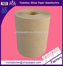 Paper towel jumbo roll in virgin pulp