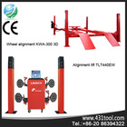 WHolesale price and better value LAUNCH KWA-300 3D used car computer repair wheel alignment lift
