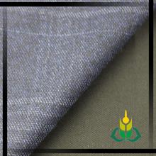 merino wool fabric dark blue plaid woo polyester fabric woolen garment fabric