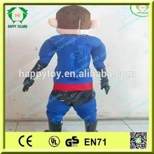 HI CE 2014 hot selling incredible costume/ cute super man cartoon