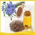 Puro orgánico y aceite de linaza/linaza aceite prensado en frío y aceite de linaza hervido