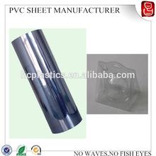 250 micron clear rigid pvc film for vacuum forming