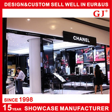 Luxury new sweet popular internal garment shop design with hot selling clothes display furniture