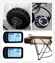 48V 1000W e bike kit /ebike conversion kit with battery with LCD display