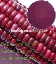 Purple corn extract 1%-36% Anthocyanidins Pure nature food color Purple Corn Extract/Cyanidin-3-glucoside
