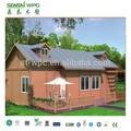 Bajo costo wpc portátil casas modulares