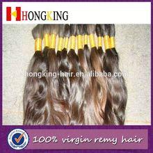 Best Selling Wavy Hair Bulk Premium Human Hair Bulk Russian