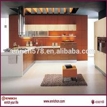 Custom made mlamine wall mounted kitchen furniture
