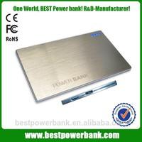 HC-K3 lithium polymer ultra slim universal power bank charger 2000mah for gift