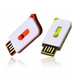 plastic flash usb drive mini style 2gb