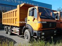2011 model Beiben tippers 6x4 dump truck benz technology sell at cheap price