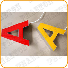 outdoor / indoor resin or acrylic led channel letter sign / led logo , led channel letter